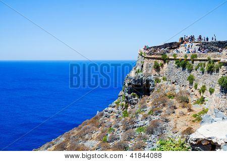 Gramvousa Island Landscape, Crete, Greece
