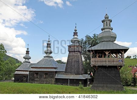 old wooden orthodox church