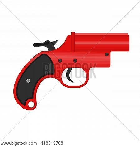 A Flare Gun, Also Known As A Very Pistol Or Signal Pistol, Is A Large-bore Handgun That Discharges F