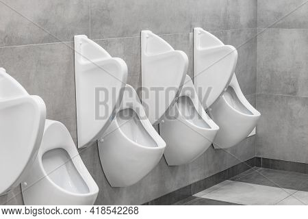 Interior Of The Toilet Inside Of The Prestige Hotel.