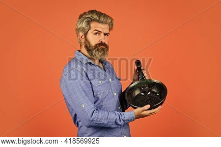 Cooking Utensils. Enameled Cast Iron Cooking Vessels. Saucepan Glass Lid. Nonstick Pan Coated Polyte