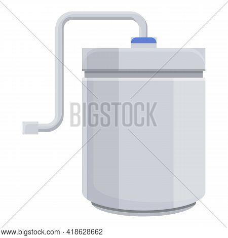 Equipment Water Purification Icon. Cartoon Of Equipment Water Purification Vector Icon For Web Desig