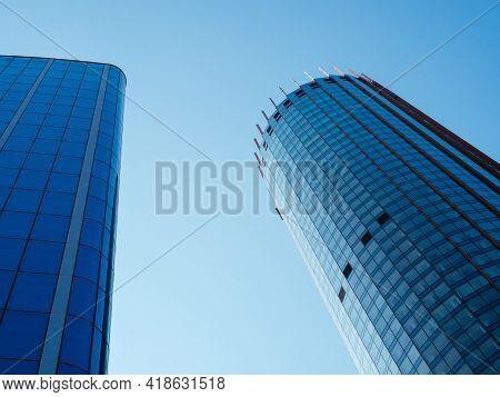 Yekaterinburg, Russia, August 27, 2020: Hyatt Regency Hotel And Iset Tower In The City Center. Elite