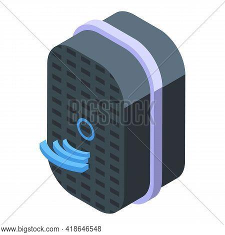 Speaker Speech Recognition Icon. Isometric Of Speaker Speech Recognition Vector Icon For Web Design