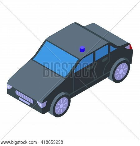 Airport Service Vehicle Icon. Isometric Of Airport Service Vehicle Vector Icon For Web Design Isolat