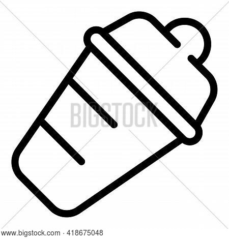 Bar Shaker Icon. Outline Bar Shaker Vector Icon For Web Design Isolated On White Background