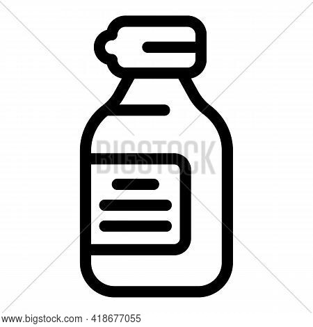 Cooking Soy Sauce Icon. Outline Cooking Soy Sauce Vector Icon For Web Design Isolated On White Backg