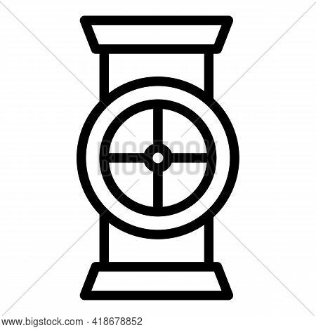 Tap Kerosene Icon. Outline Tap Kerosene Vector Icon For Web Design Isolated On White Background