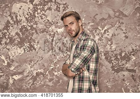 Ultimate Bad Boy. Attractive Sexy Guy. Charismatic Guy. Handsome Unshaven Man. Male Beauty Standards