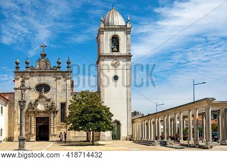 Cathedral Of Aveiro, Also Known As The Church Of St. Dominic Is A Roman Catholic Cathedral In Aveiro