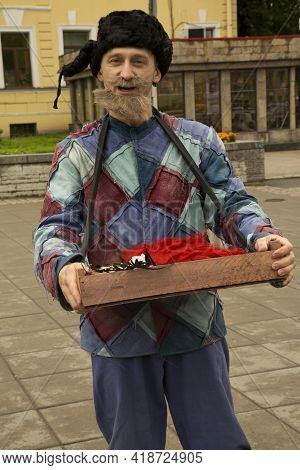 Saint-petersburg, Russia. 01 July 2017. Day Of Dostoevsky In St. Petersburg.