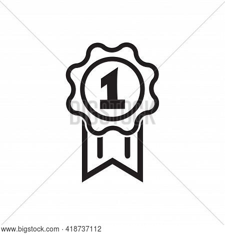 Award Icon. Medal, Achievement Concepts. Premium Quality Graphic Design. Modern Signs, Outline Symbo