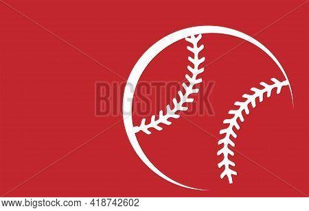 Baseball Icon Isolated On Background  Run, Set, Single, Slam