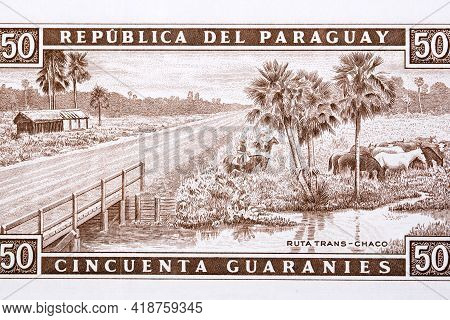 Route 9 - Ruta Transchaco From Paraguayan Money