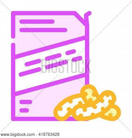Corn Sticks Snack Color Icon Vector. Corn Sticks Snack Sign. Isolated Symbol Illustration