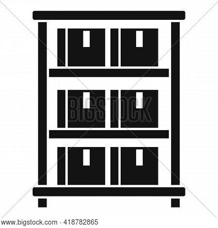 Parcel Food Storage Icon. Simple Illustration Of Parcel Food Storage Vector Icon For Web Design Isol