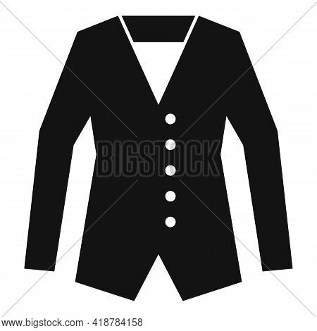 Jacket Dry Cleaning Icon. Simple Illustration Of Jacket Dry Cleaning Vector Icon For Web Design Isol