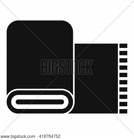Dry Cleaning Carpet Icon. Simple Illustration Of Dry Cleaning Carpet Vector Icon For Web Design Isol