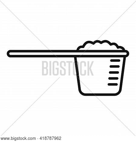 Dry Cleaning Measurement Cup Icon. Outline Dry Cleaning Measurement Cup Vector Icon For Web Design I
