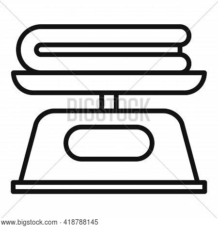 Name Icon. Outline Name Vector Icon For Web Design Isolated On White Background