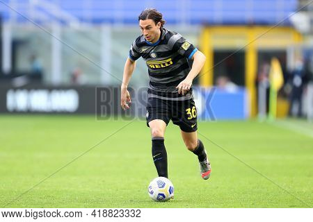Milano, Italy. 25th April 2021 . Matteo Darmian Of Fc Internazionale  During The Serie A Match Betwe