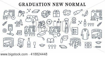 Graduation New Normal Banner. Personal Growth, Professional Development.template For Landing, Web Pa