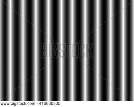 Abstract Advertising Background, Decorative Horizontal Black White Silver Gradient Dynamic Decorativ