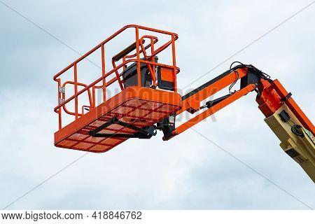 Telescopic Platform Crane Machine Work Lift Hydraulic Lifter