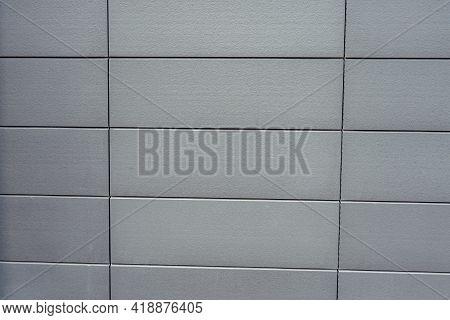 Old Gray Concrete Wall. Concrete Texture, Closeup. Background Texture Of Modern Gray Concrete Wall.