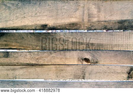 Fence Made Of Gray Old Boards Background Texture