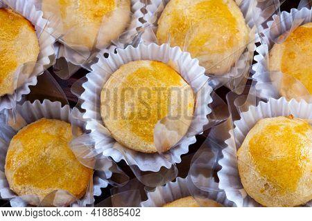 Empadinha, traditional Brazilian snack food
