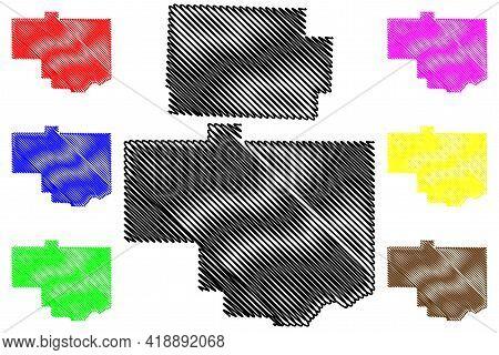 Coshocton And Columbiana County, Ohio State (u.s. County, United States Of America, Usa, U.s., Us) M