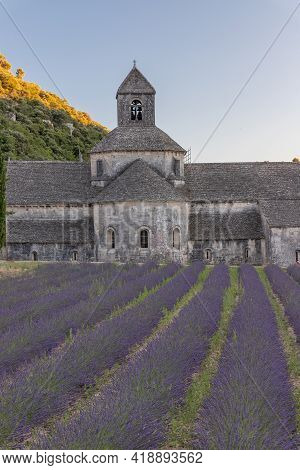 Abbey Notre Dame De Senanque In The Provence, France, Europe