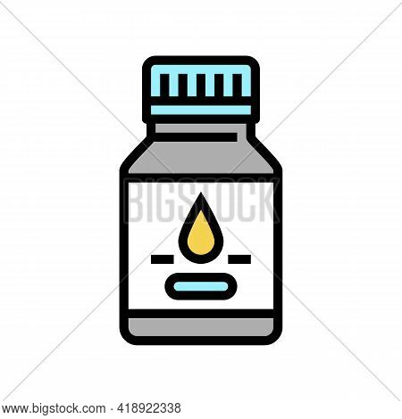 Syrup Pharmaceutical Production Color Icon Vector. Syrup Pharmaceutical Production Sign. Isolated Sy