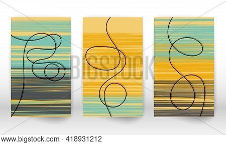 Scandinavian Home Decor. Hand Drawn Lines. Modern Art Canvas. Watercolor Effect Design. Scandinavian