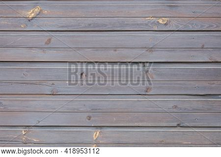Shabby Wooden Wall Background. Obsolete Carpentry Boards, Panel. Surface Of Wood Texture For Design