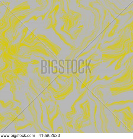 Trendy Halftones Fluid Art Calm Seamless Pattern With Wave Marble Effect In Fashion Tones For Appare