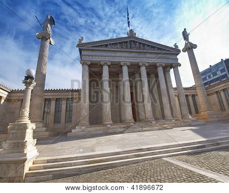 The national academy Athens Greece