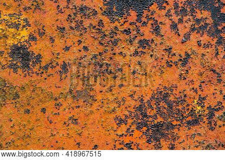 Rusty Texture, Grunge Rusted Metal Background, Rusty Material Pattern