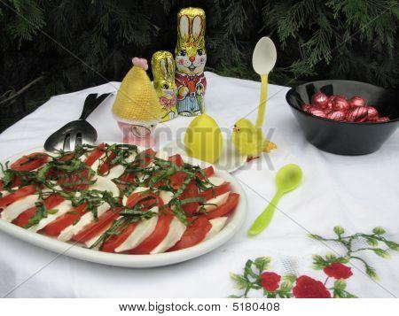 Ostern Mittagessen