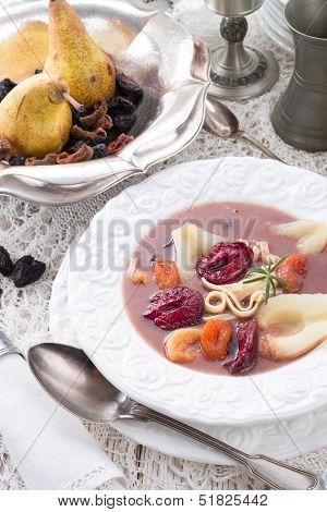 Czernina  Is A Polish Soup