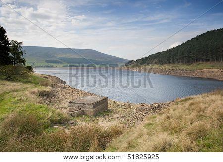 reservoir in the peak district