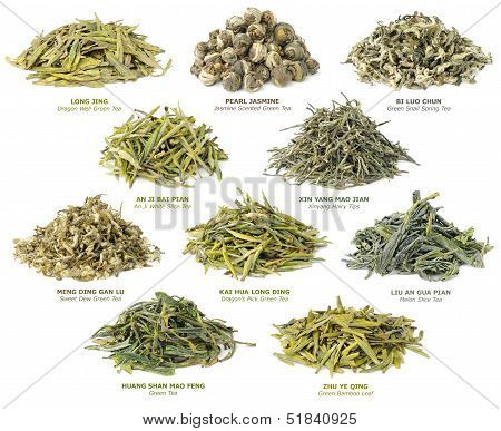 Chinese Green Tea Collection