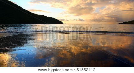 Brewers Bay Sunset On Tortola