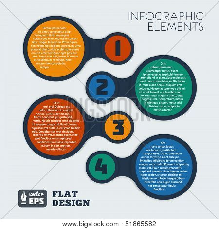 Metaball Infographic Elements