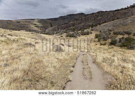 Path Along Los Glaciares National Park
