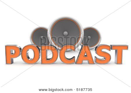 Speakers Podcast - Orange,