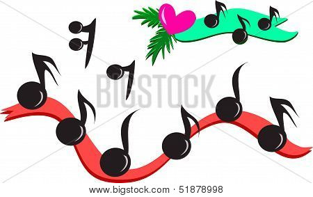 Mix of Musical Notes