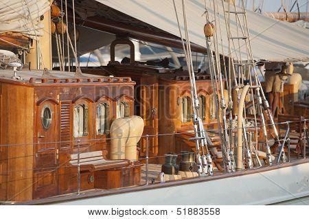 Old Luxury Yacht