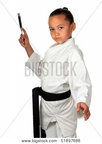 Young Karate Champ